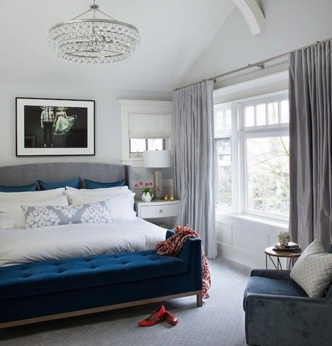 25 Stunning Transitional Bedroom Design Ideas: Transitional Home Tour
