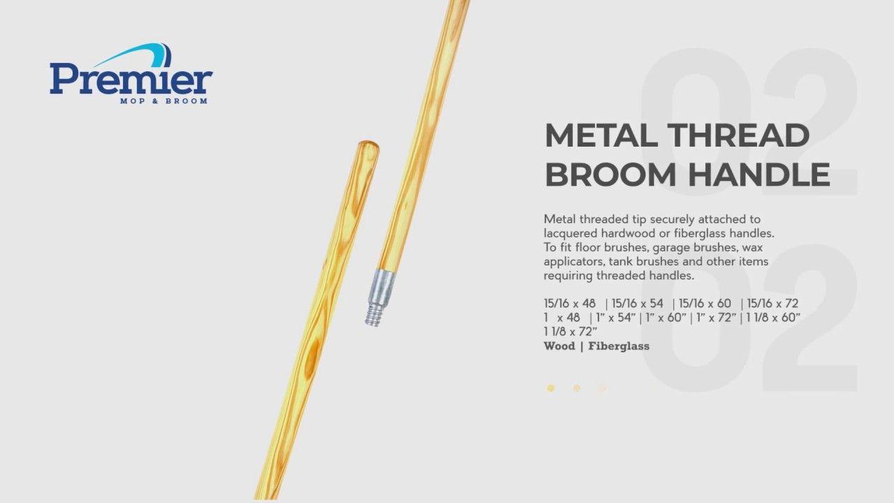 Premier Broom Handles   www premiermop com   Best Brooms in