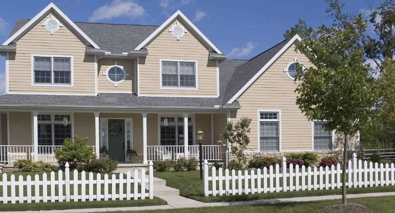Fachadas de casas casas americanas fachada de casa y for Fachadas de casas americanas