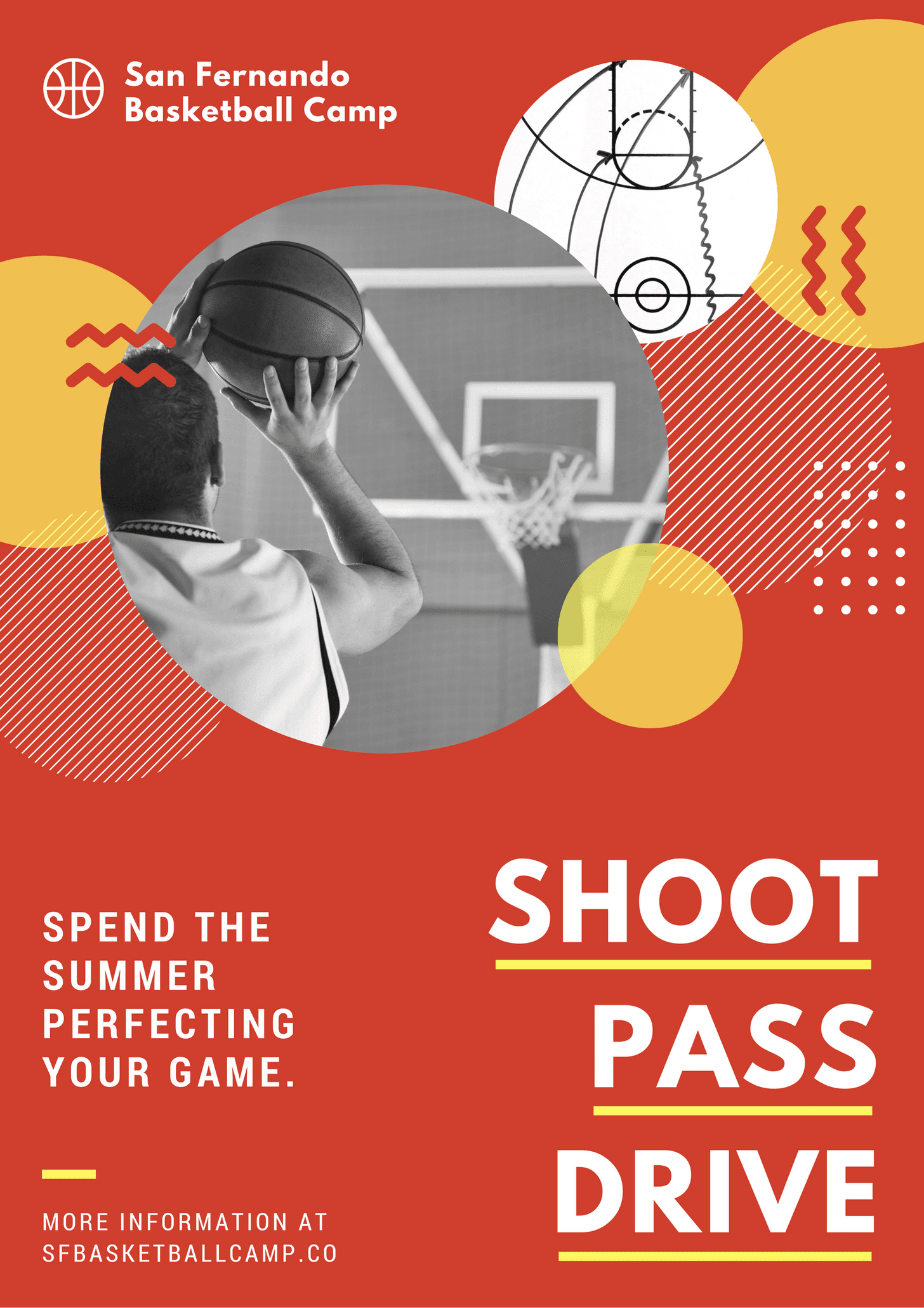 circles-and-patterns-basketball-poster #posterdesignsoftware circles-and-patterns-basketball-poster #posterdesignsoftware