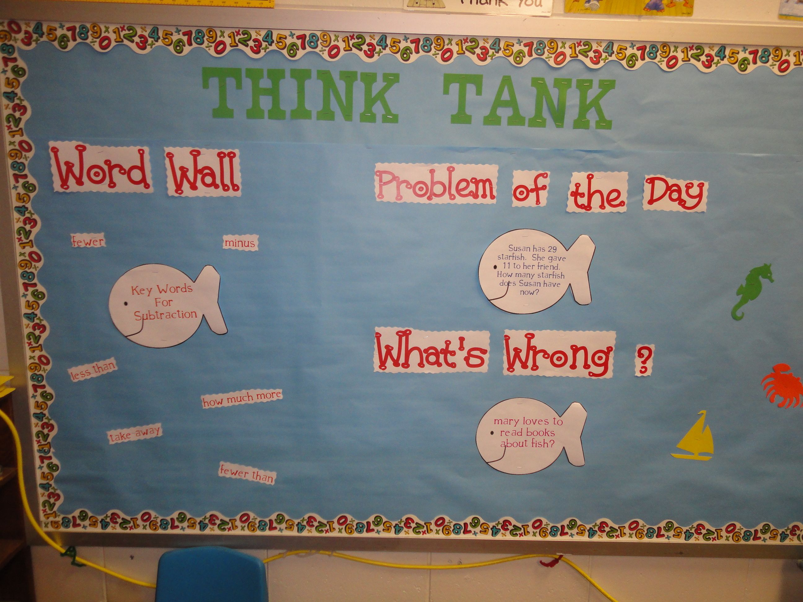 Think Tank Cute For A Fish Theme
