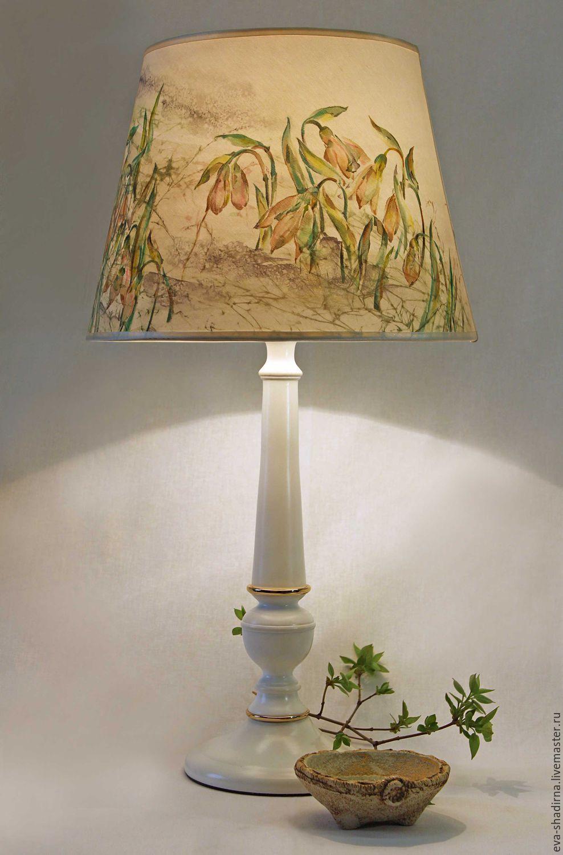 Лампа в стиле кантри своими руками