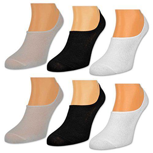 info for 10269 b79ee 6 oder 12 Paar Damen Füßlinge Ballerina Socken Footies ...