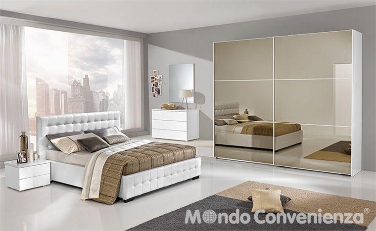 Camera da letto Maxi - Armadio 2 antoni - Moderno - Mondo ...