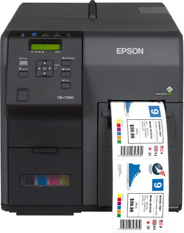 Epson Colorworks C7500 Printer Label Printer Inkjet Labels Printing Labels