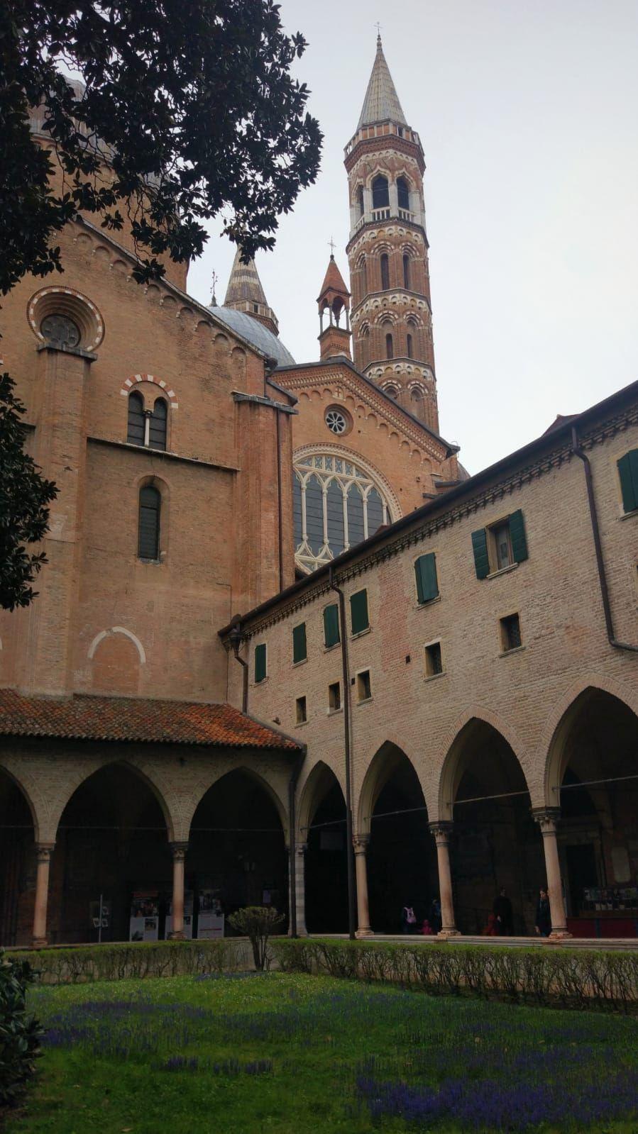 Basilica De Santo Antônio Di Padova Pádua Itália Pádua Italia Turismo