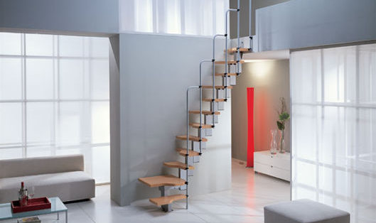 Stairs Design Ideas For Small House | Stair Design For Small House Outside | Small Spaces | Living Room | Wood | Handrail | House Plans