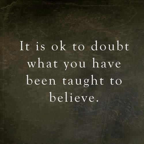 tomarse el tiempo de dudar