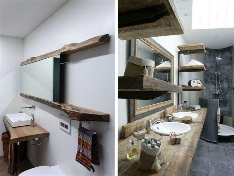 lavabos rusticos banos opciones estanterias ideas Interiores para - lavabos rusticos