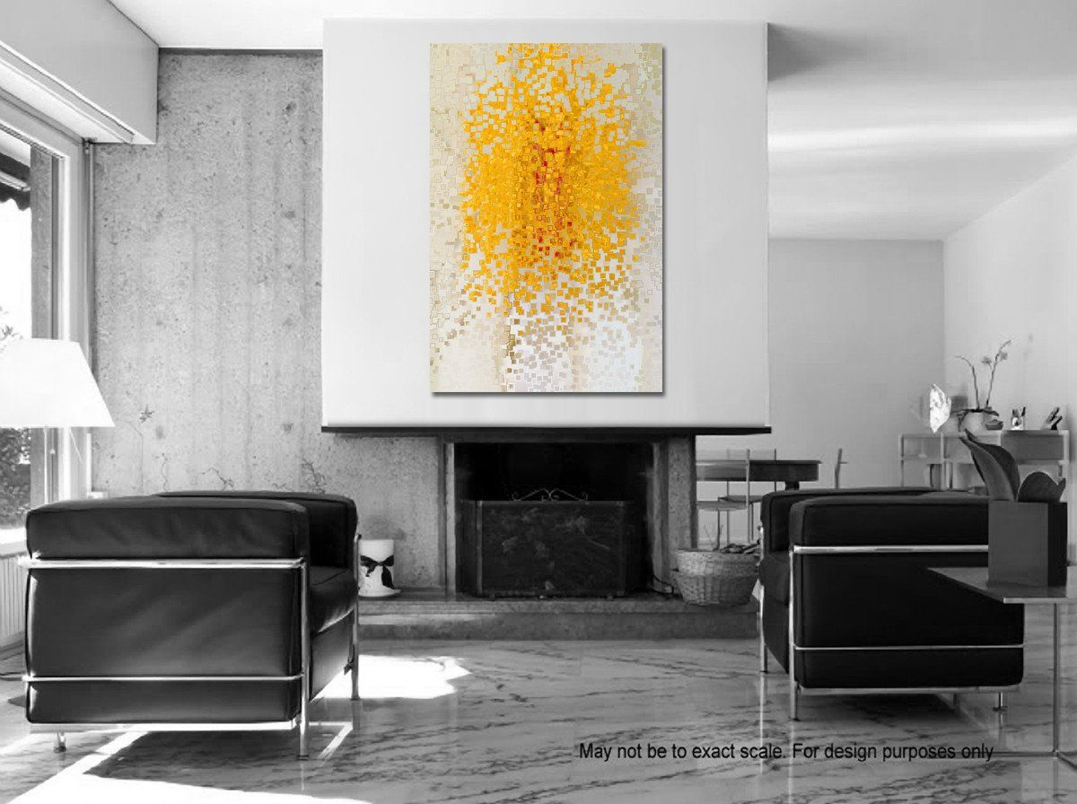 Big Painting Room Inspiration  Modern Abstract Christian Art Limited  Edition By Mark Lawrence. Giant