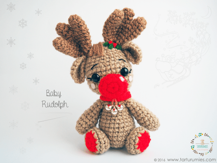 Pattern Free Reindeer Baby Rudolph . Come to know us for our ...