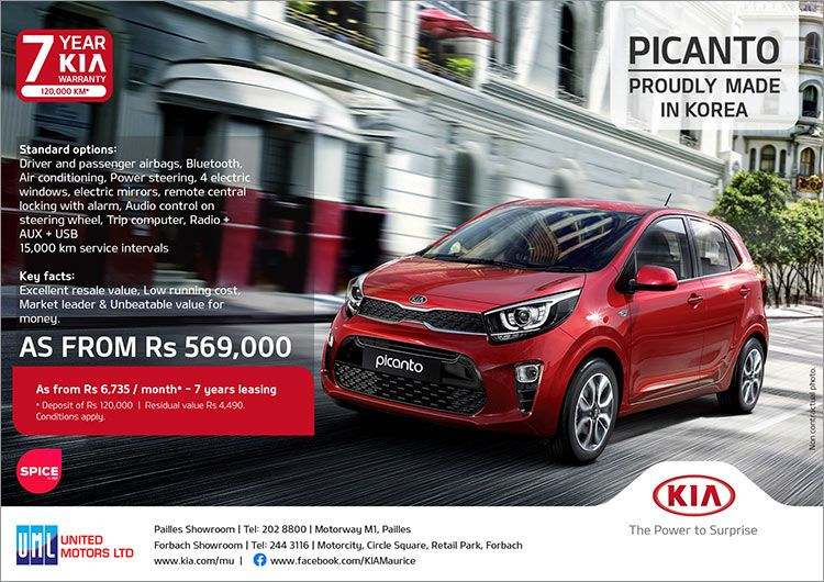 Pin By Bluefish Emarketing Mauritius On Auto Moto In 2020 Kia