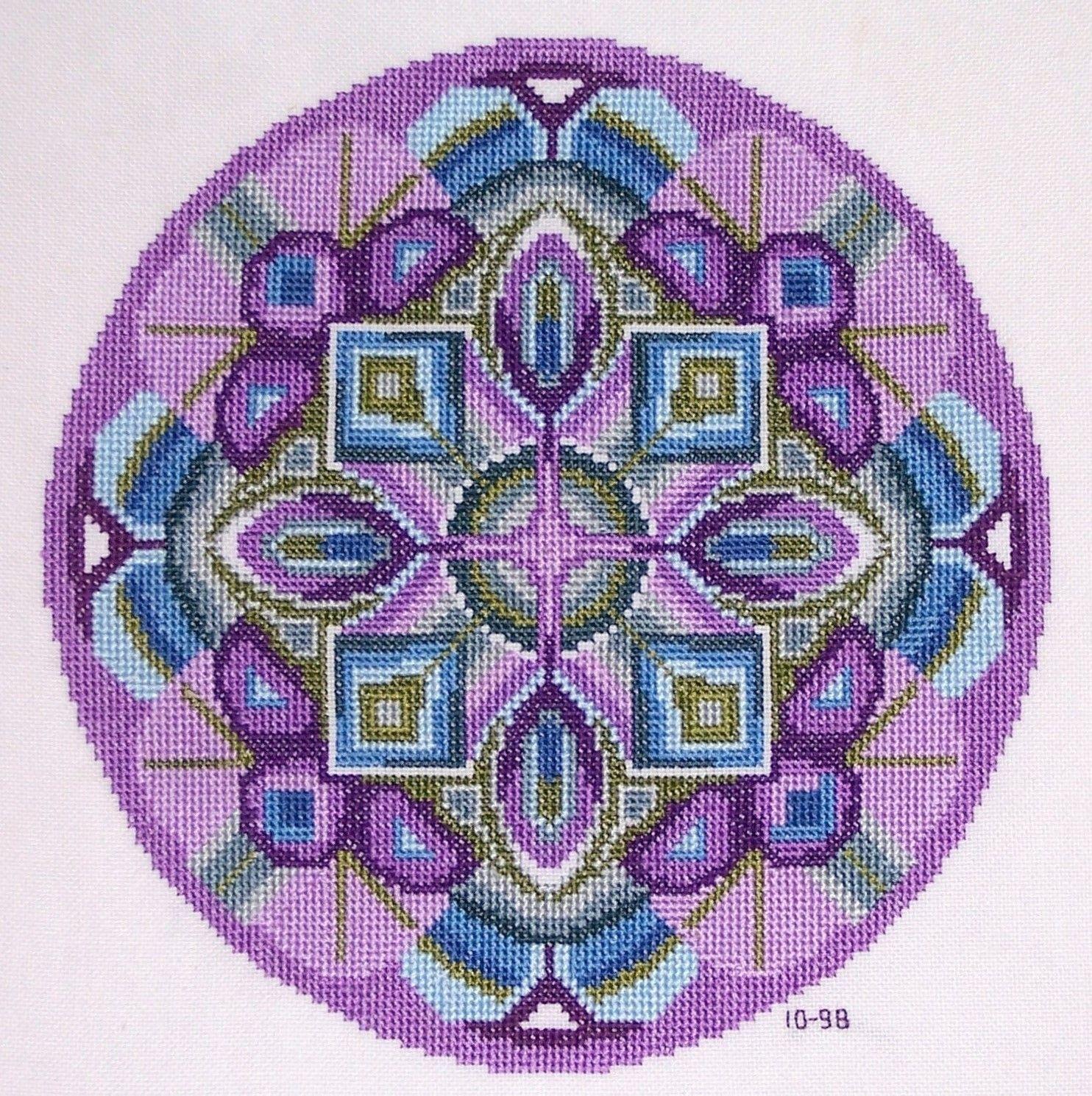Mandala Art Pattern ~ Spiritual ~ Cross Stitch Pattern