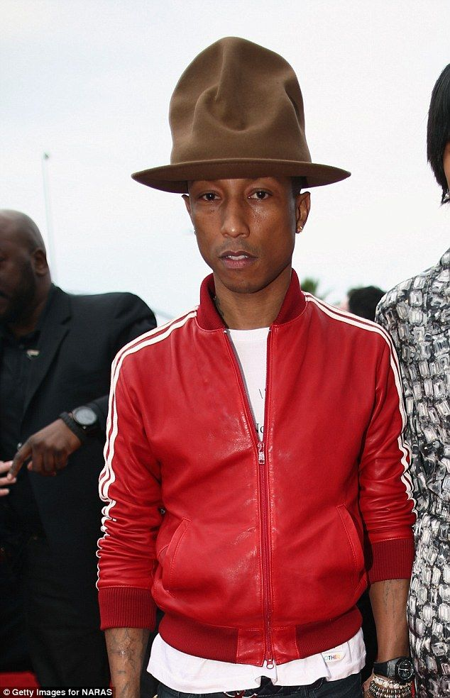 13f9855e3bf Get Hubby Pharrell Williams hat so I can wear high heels YESSS!