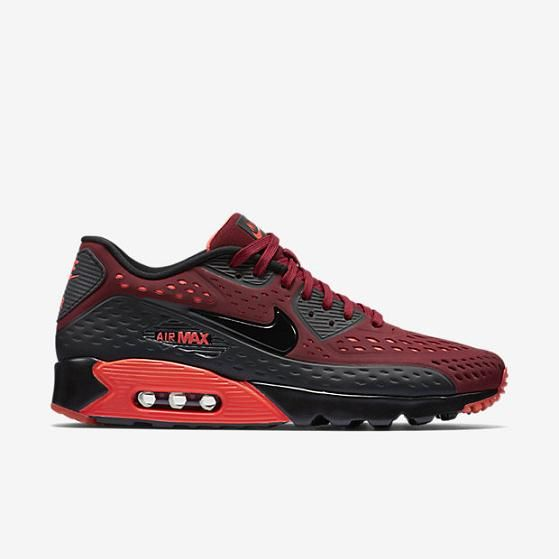 Nike Air Max 90 Ultra BR Mens Shoe Team Red Bright Crimson Black