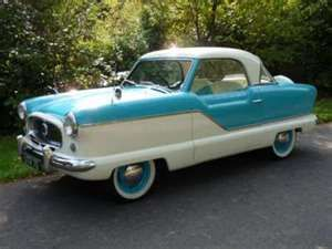 1960 Nash Metropolitan 1500....is this adorable or what?