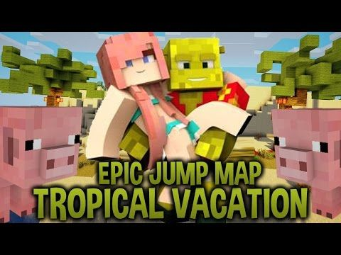 Aloha Epic Jump Map Tropical Vacation Ep 1 Youtube