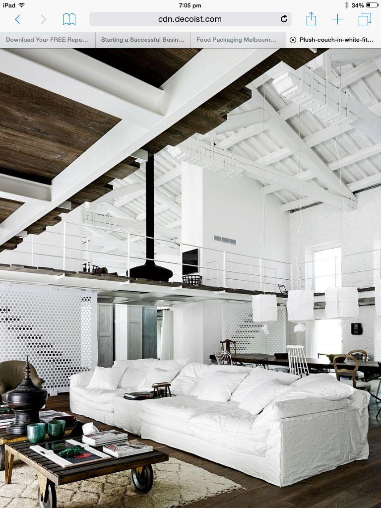 Love the White circular mesh   home   Pinterest   Interiores