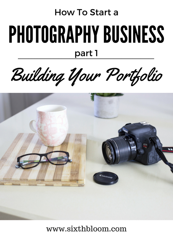 Building Photography Tips how to build your portfolio when starting a photography business