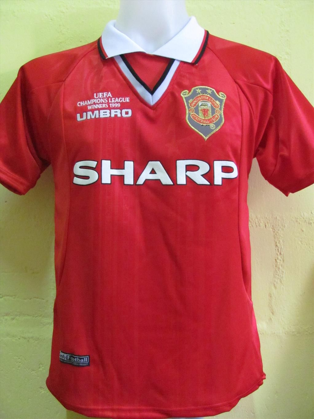 half off b2624 7594c champions league jersey manchester united