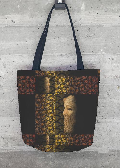 VIDA Tote Bag - King SARGON II Tote by VIDA SYvF4X6