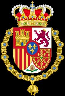 Felipe Vi Of Spain Wikipedia The Free Encyclopedia Coat Of Arms Heraldry Spanish Royal Family