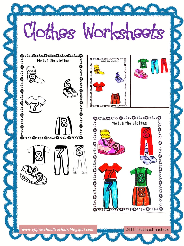Esl Clothes Worksheet Using Numbers Esl Clothes Worksheet