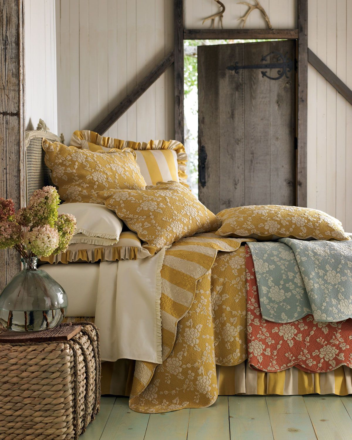 Pine Cone Hill Madeline Bedding Bed design, Country