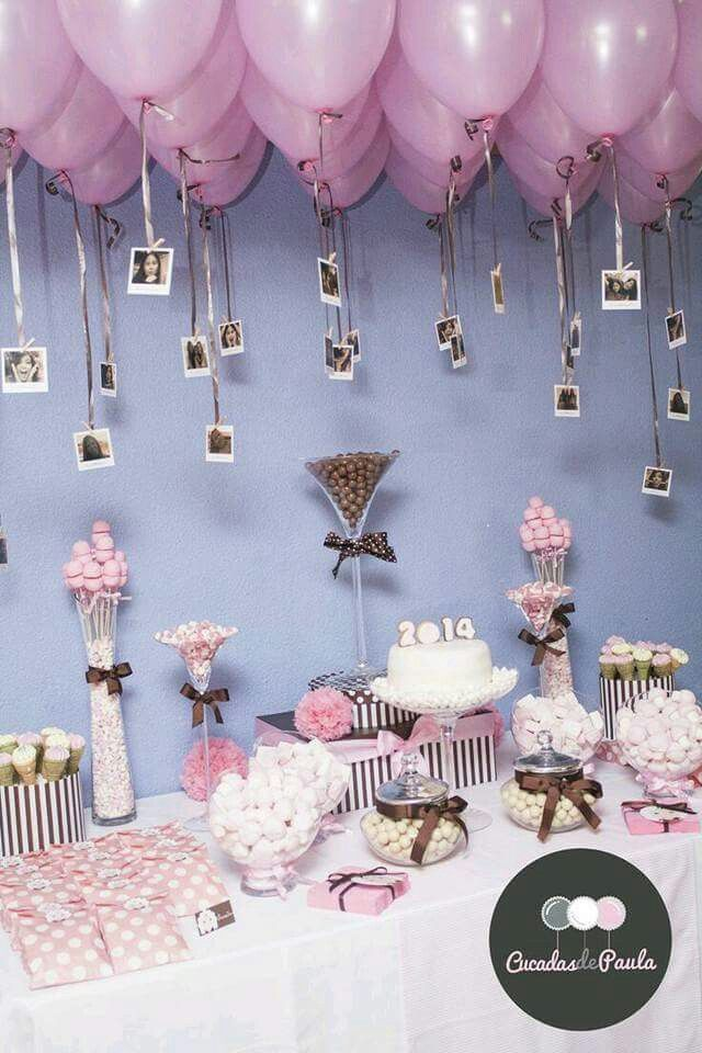 Baby Shower Decorations 18 Birthday Candy Table Backdrop Balloon