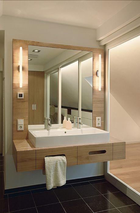 meuble sous plan vasque double robinet salle d 39 eau zen pinterest plans secondaires plan. Black Bedroom Furniture Sets. Home Design Ideas