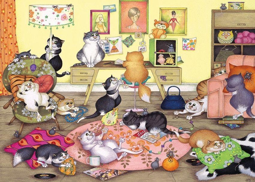 сколько котят на картинке ответ снимался российских сериалах