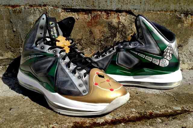 Dejesus Custom Nike LeBron X (Dragonzord) - Sneaker Freaker 6c57cb9c1