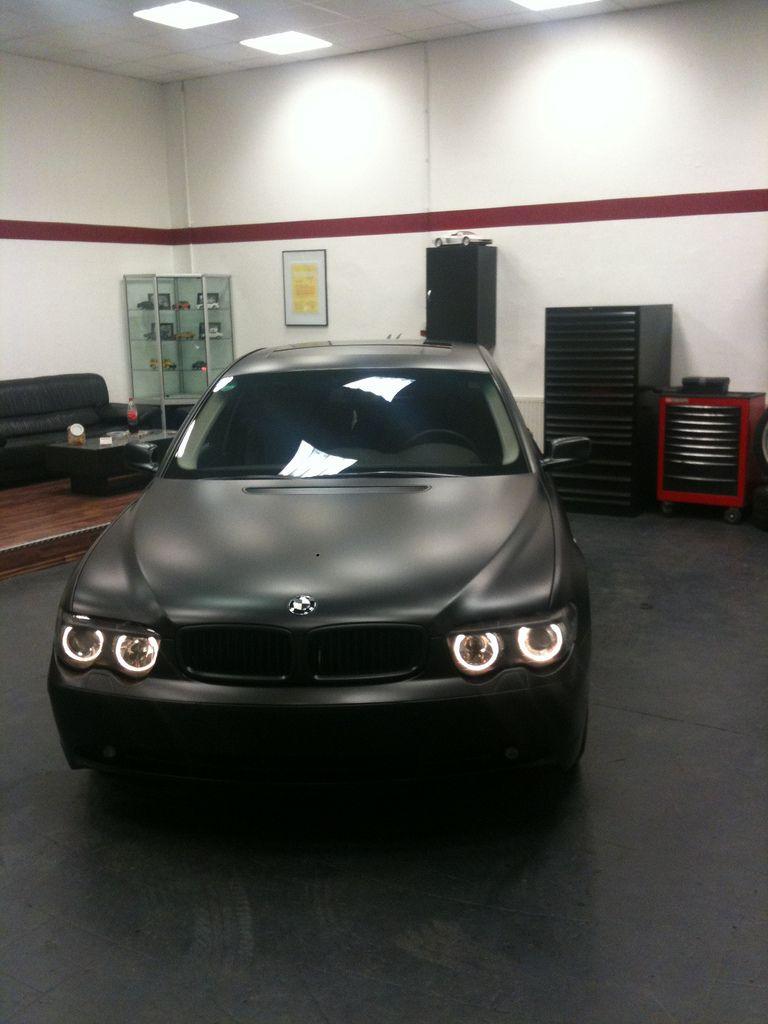 BMW 745i Matte Black