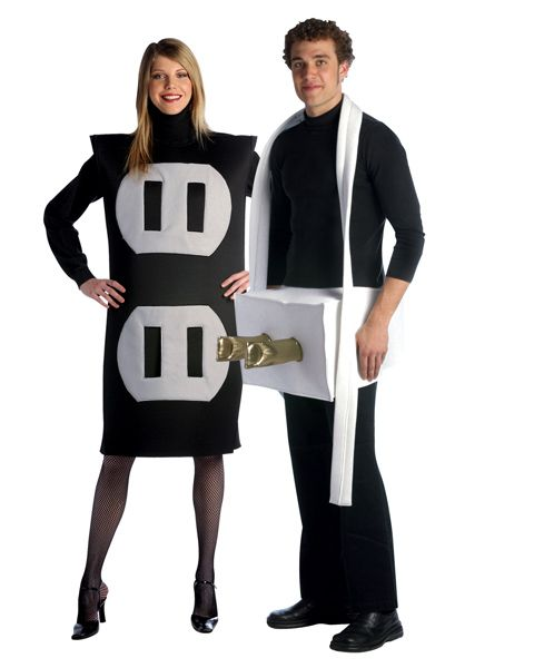 Plug Socket Adult Costume You Ll Never Make A More Electrifying