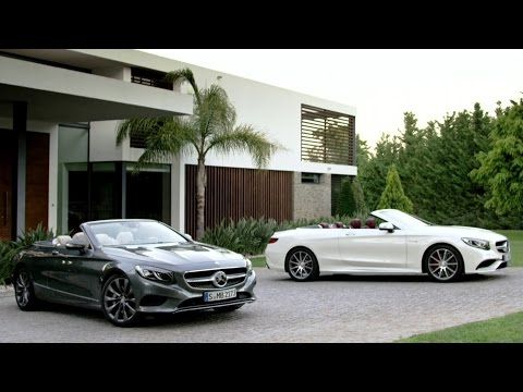 Open-top luxury: the new Mercedes-Benz S-Class Cabriolet.