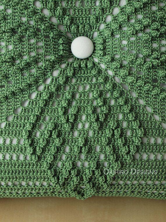 Monos \'Monstera\' hawaiano edredón patrón 12 | cojines crochet ...