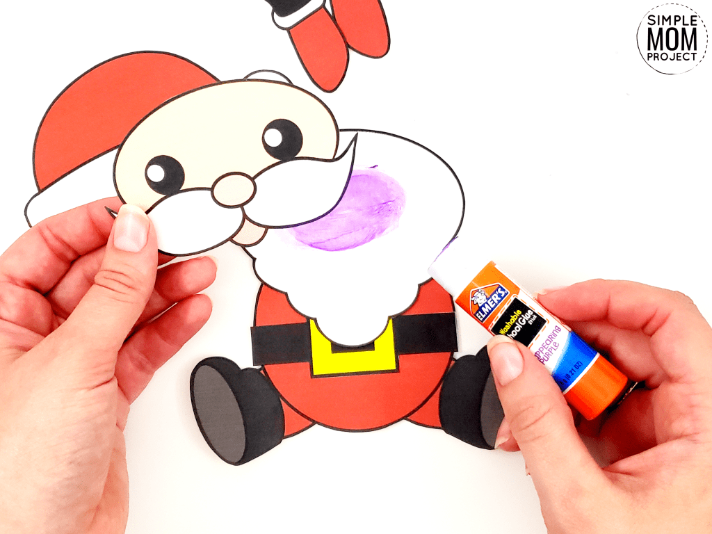 Easy To Make Santa Claus Craft With Free Templates With