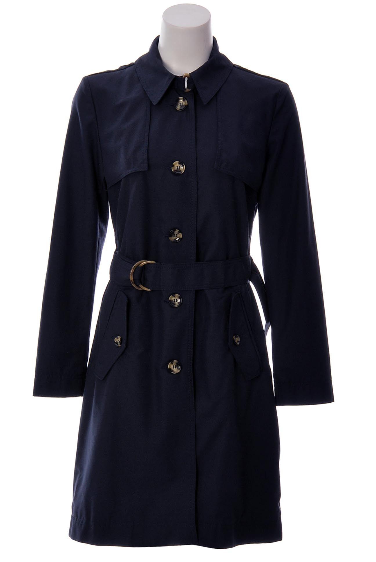 Armani jeans womens trench coat menus designer clothing u brands