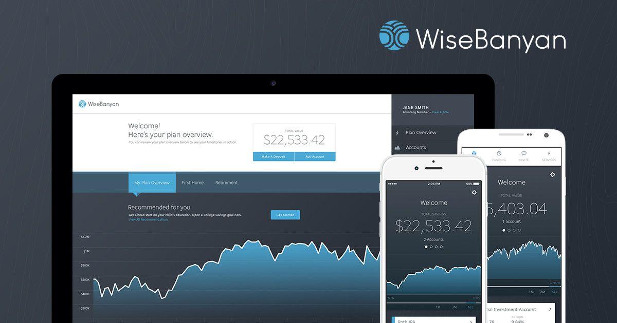 WiseBanyan The World's First Free Financial Advisor