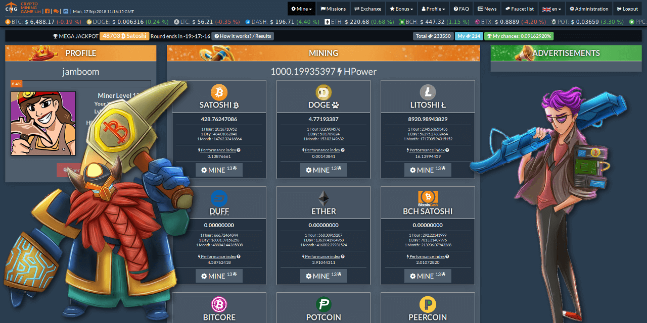 Play Games and Earn Free Cryptocurrency Coins Bitcoin