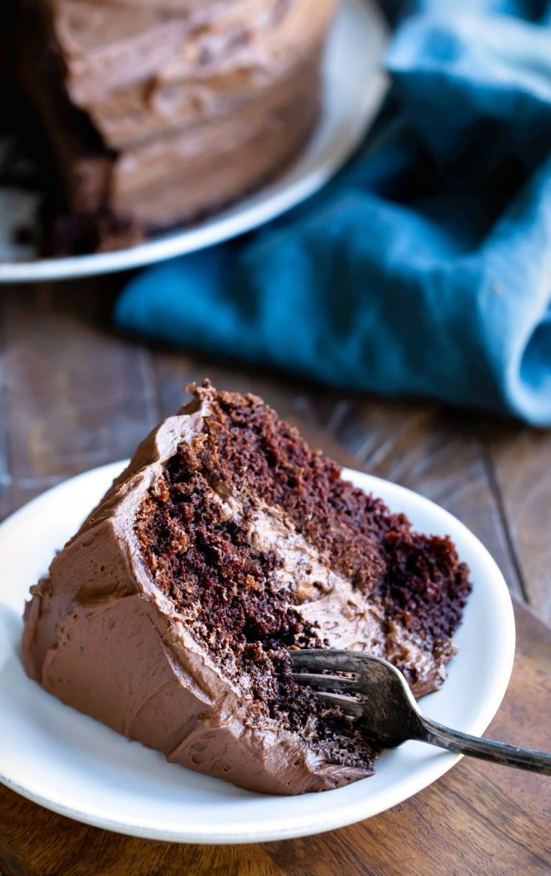Chocolate Fudge Cake Recipe Chocolate fudge cake, One