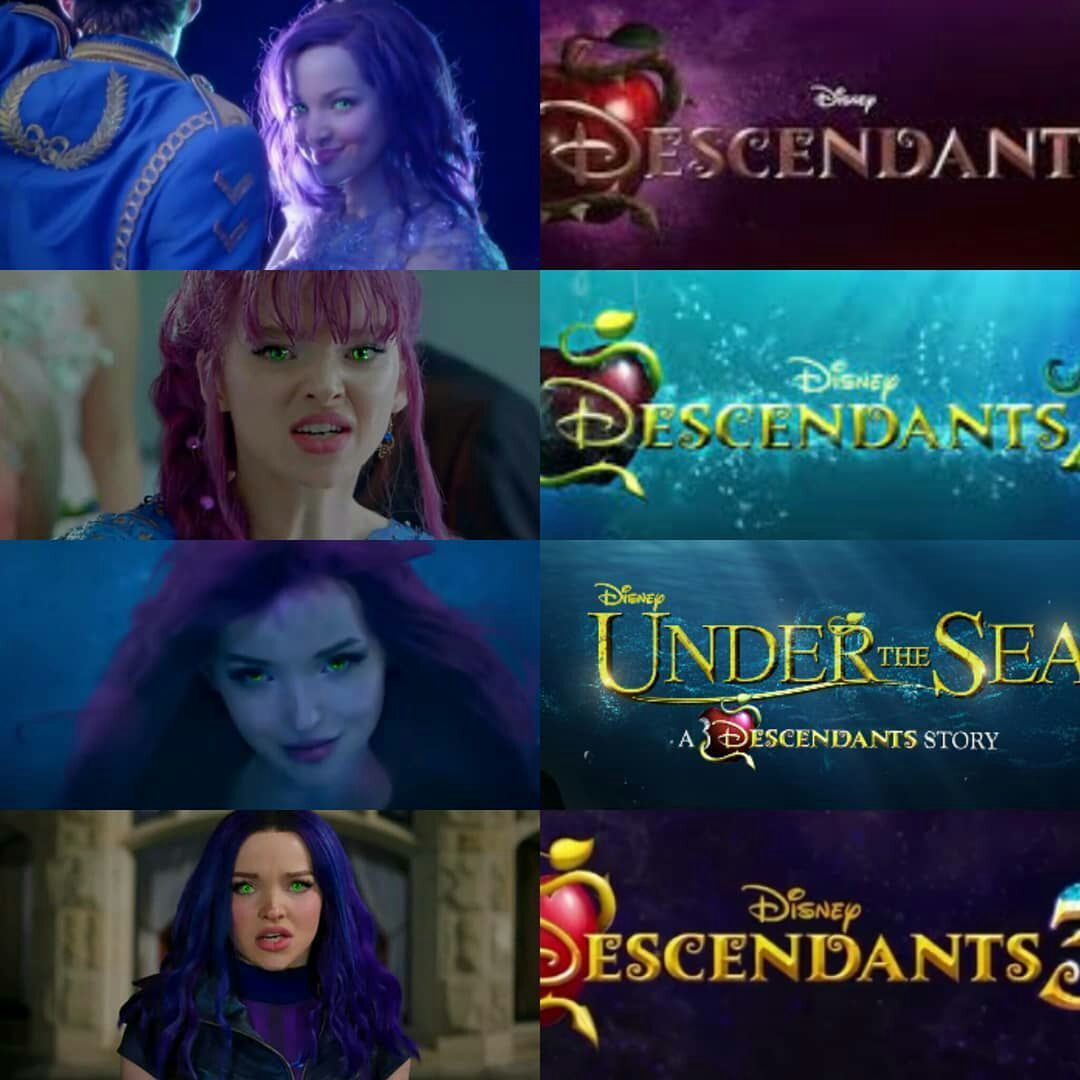 SERÁS MI DESTINO 💜👑💙 | Descendants 3 | Disney descendants