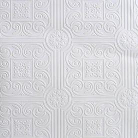 Sunworthy White Peelable Vinyl Prepasted Wallpaper This Wallpaper On  Ceiling Painted Black