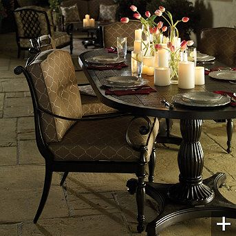 Good I Love Outdoor Furniture That Looks Like Indoor Furniture. This Is All In  Cast Aluminum