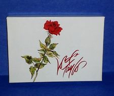 Vintage LORD & TAYLOR Red Rose Small Gift Box ~ Great Condition