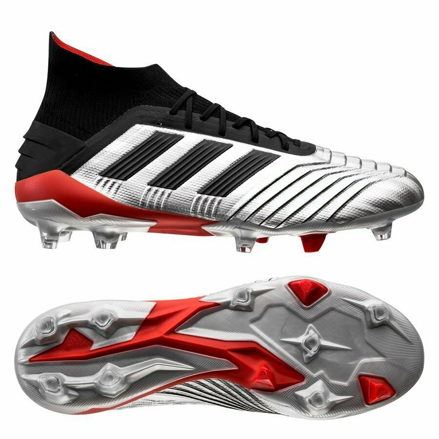 eaa7e433 Advertisement(eBay) adidas Predator 19.1 FG 2019 Laceless Soccer Cleats  Shoes New Chrome Black