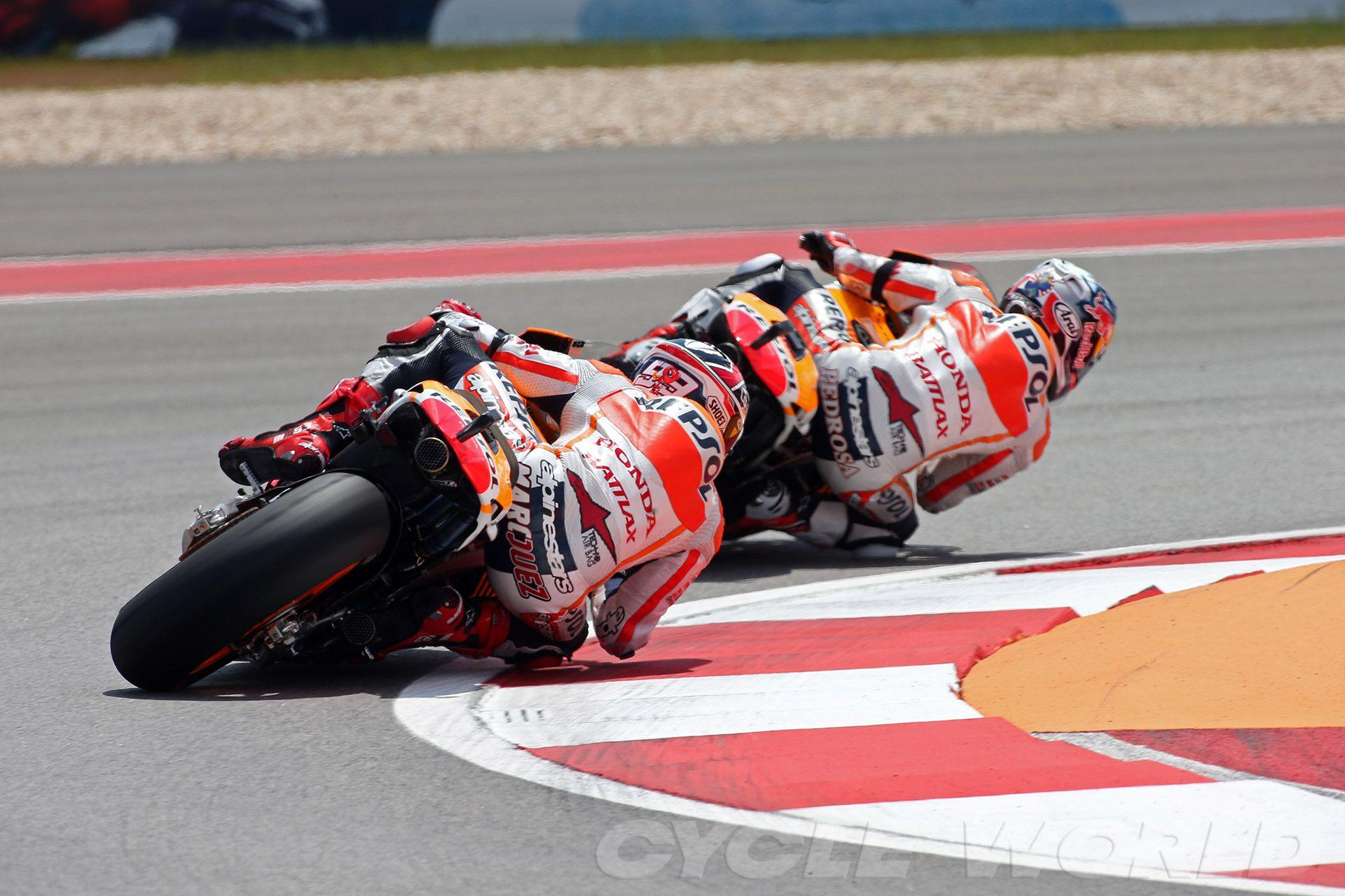 Marquez Y Pedrosa Marc Marquez Motogp