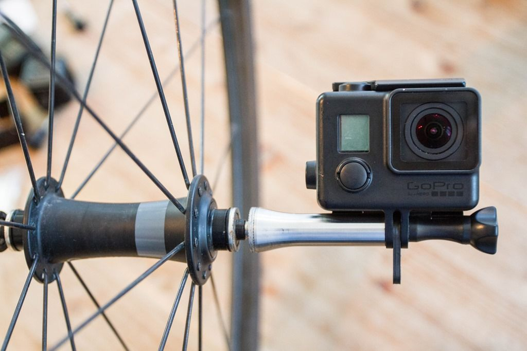 Trying Out The New Nut R Wheel Action Cam Mount With Images