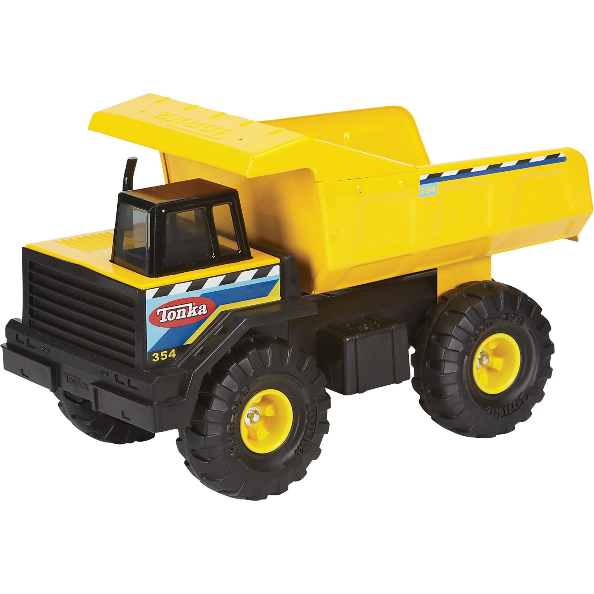 Tonka classic steel mighty dump truck vehicle the tonka classic steel mighty dump truck is built for hauling this sturdy steel construction vehicle is
