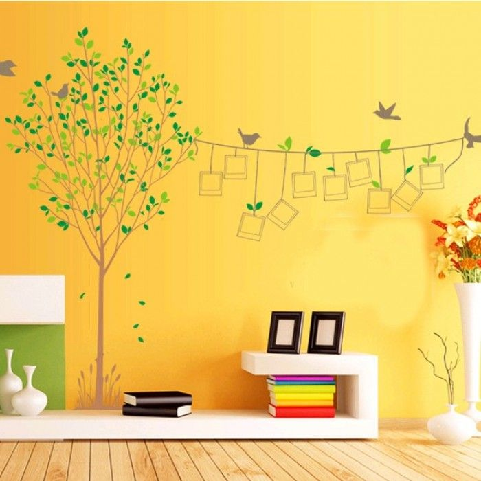 Take into account decorative wall painting techniques to transform a ...
